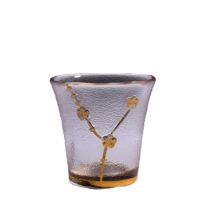 日式清酒杯 金邊梅花 2個入 酒品配件 Accessories 清酒杯 清酒十四代獺祭專家