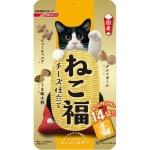 日本日清 貓小食 芝士雞肉海鮮蔬菜零食粒 3g 14袋入 (橙) 貓小食 日清 寵物用品速遞