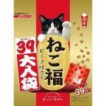 日本日清 貓脆餅福袋 牛肉味 117g (3g*39袋入) (金紅) 貓小食 日清 寵物用品速遞