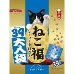 日本日清 貓脆餅福袋 海鮮味 117g (3g*39袋入) (金藍) 貓小食 日清 寵物用品速遞