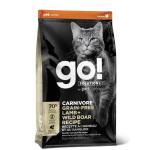GO! SOLUTIONS 活力營養系列 無穀物羊肉豬肉貓糧 Lamb Wild Boar Cat Food Recipe 3lb (1303061) 貓糧 GO 寵物用品速遞