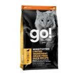 GO-SOLUTIONS-低敏美毛系列-鴨肉貓糧-Duck-Cat-Food-Recipe-16lb-1303146-GO-寵物用品速遞
