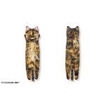 貓奴生活雜貨-日本FELISIMO-身體超長貓毛巾-905-玳瑁貓-貓咪精品-寵物用品速遞