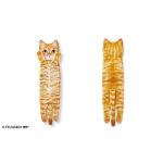 日本FELISIMO 身體超長貓毛巾 902-茶色虎斑 生活用品超級市場 貓咪精品