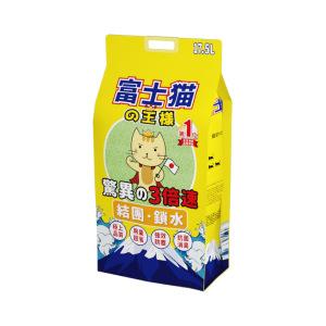 富士貓之王樣-豆腐貓砂-富士貓之王樣-天然玉米豆乳豆腐貓砂-綠茶味-17_5L-原裝行貨-豆腐貓砂-豆乳貓砂-寵物用品速遞