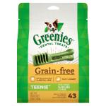 狗小食-Greenies-無穀物潔齒骨-的骰犬用-43支-12oz-Greenies-寵物用品速遞