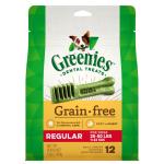 狗小食-Greenies-無穀物潔齒骨-標準犬用-12支-12oz-10197579-Greenies-寵物用品速遞