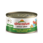 貓罐頭-貓濕糧-Almo-Nature-HFC-天然貓罐頭-吞拿魚-粟米-70g-9033-Almo-Nature-寵物用品速遞