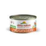 Almo Nature HFC 天然貓罐頭 雞肉+南瓜 70g (9034) 貓罐頭 貓濕糧 Almo Nature 寵物用品速遞