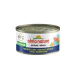 Almo Nature HFC 天然貓罐頭 吞拿魚+蜆肉 70g (9045) 貓罐頭 貓濕糧 Almo Nature 寵物用品速遞