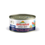 Almo Nature HFC 天然貓罐頭 吞拿魚+雞肉+火腿 70g (9081) 貓罐頭 貓濕糧 Almo Nature 寵物用品速遞