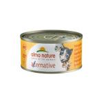 Almo Nature Alternative 貓罐頭 烤雞 70g (5450) (4127072) (TBS) 貓罐頭 貓濕糧 Almo Nature 寵物用品速遞