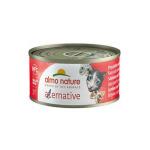 Almo Nature Alternative 貓罐頭 火腿+帕瑪森芝士 70g (5451) (4127089) (TBS) 貓罐頭 貓濕糧 Almo Nature 寵物用品速遞