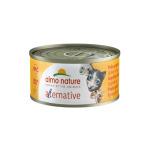 Almo Nature Alternative 貓罐頭 烤火雞 70g (5453) (4127102) (TBS) 貓罐頭 貓濕糧 Almo Nature 寵物用品速遞