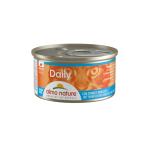 Almo Nature Daily 慕絲主食成貓罐頭 吞拿魚+鱈魚 85g (147) 貓罐頭 貓濕糧 Almo Nature 寵物用品速遞