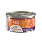貓罐頭-貓濕糧-Almo-Nature-Daily-慕絲主食成貓罐頭-兔肉-Rabbit-85g-157-Almo-Nature-寵物用品速遞