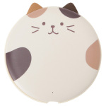 貓奴生活雜貨-日本FukuFukuNyanko-超圓無線叉電器-鴛鴦色耳朵-Miche-一個入-貓咪精品-寵物用品速遞