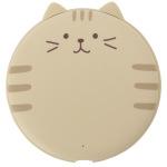 貓奴生活雜貨-日本FukuFukuNyanko-超圓無線叉電器-三行虎紋-Chacha-一本入-貓咪精品-寵物用品速遞