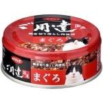 日本d.b.f 貓罐頭 吞拿魚 80g (紅) 貓罐頭 貓濕糧 d.b.f 寵物用品速遞