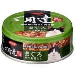 日本d.b.f 貓罐頭 吞拿魚鰹魚 80g (綠) 貓罐頭 貓濕糧 d.b.f 寵物用品速遞