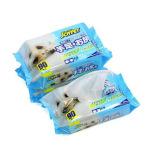 日本JOYPET 狗狗清潔無香料非酒精 濕紙巾 1包入 (粉藍) 狗狗清潔美容用品 皮膚毛髮護理 寵物用品速遞