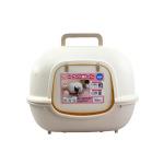 IRIS 全封閉式貓砂盤WNT-510 米啡色 貓咪日常用品 貓砂盤 寵物用品速遞