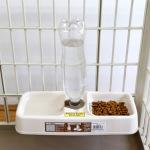 貓犬用日常用品-IRIS-可掛式餵食飲水器-寵物籠適用-KH-320-貓犬用-寵物用品速遞