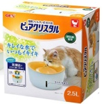 Gex 貓用循環式飲水機 2.5L (橙色) (FP92459) 貓咪日常用品 飲食用具 寵物用品速遞