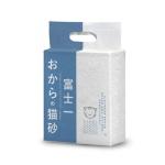 豆腐貓砂 富士一 天然極簡豆乳豆腐貓砂 原味 6L - 原裝行貨 貓砂 豆腐貓砂 寵物用品速遞
