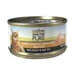CANIDAE咖比-PURE-貓罐頭-雞絲及南瓜-70g-6178-CANIDAE-咖比-寵物用品速遞