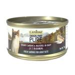 CANIDAE咖比-PURE-貓罐頭-沙丁魚及鯖魚-70g-6192-CANIDAE-咖比-寵物用品速遞