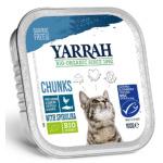 貓罐頭-貓濕糧-Yarrah-貓罐頭-有機雞塊-鯡魚-100g-AW919012-Yarrah-寵物用品速遞