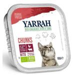 貓罐頭-貓濕糧-Yarrah-貓罐頭-有機雞塊-牛肉-100g-AW919022-Yarrah-寵物用品速遞