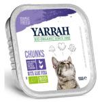 貓罐頭-貓濕糧-Yarrah-貓罐頭-有機雞塊-火雞-100g-AW919035-Yarrah-寵物用品速遞
