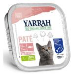 貓罐頭-貓濕糧-Yarrah-貓罐頭-有機海藻三文魚醬-100g-AW919052-Yarrah-寵物用品速遞