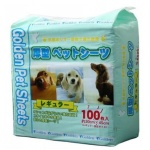 Golden Pet Sheets 強力吸濕除臭加厚寵物尿墊 狗尿墊 狗尿片 [30*45 S碼 100枚入] (GD053720) 狗狗 狗尿墊 寵物用品速遞