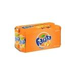 芬達橙味汽水 Fanta Orange Flavoured Soda 330ml 八罐裝 (2129) 生活用品超級市場 飲品