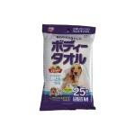 日本IRIS 每日擊退污糟 寵物濕紙巾 小型犬及貓適用 BWT-25M 25枚入 貓犬用 貓犬用日常用品 寵物用品速遞