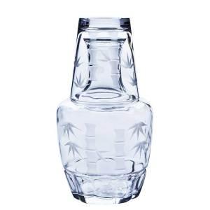 日本東洋佐佐木 冠水瓶分酒瓶及杯 竹切子 60-75 650ml 酒品配件 Accessories 分酒瓶 清酒十四代獺祭專家