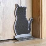 貓貓舒爽不求人 按摩牆角梳毛器 貓型 (顏色隨機) 貓咪玩具 其他 寵物用品速遞