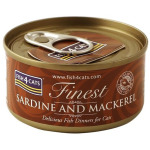 Fish4Cats-貓罐頭-沙甸-鯖魚-70g-CSW601-Fish4Cats-寵物用品速遞