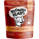 Meowing Heads 全配方無穀物貓用主食濕糧系列(火雞,雞,牛)100g (啡色) (MHWT) 貓罐頭 貓濕糧 Meowing Heads 寵物用品速遞