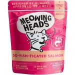 Meowing Heads 全配方無穀物貓用主食濕糧系列 (三文魚,雞,牛) 100g (桃紅色)(MHWS) 貓罐頭 貓濕糧 Meowing Heads 寵物用品速遞