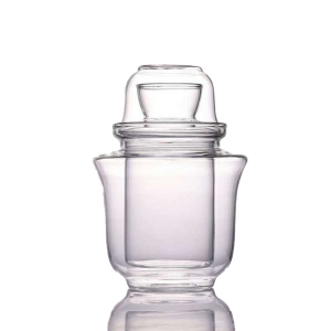日式温酒一體式套裝 三件套玻璃酒杯 200ml 酒品配件 Accessories 清酒杯 清酒十四代獺祭專家