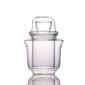 酒品配件-Accessories-日式温酒一體式套裝-三件套玻璃酒杯-200ml-清酒杯