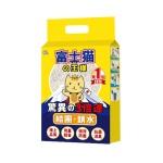 豆腐貓砂 富士貓之王樣 天然玉米豆乳豆腐貓砂 原味 6L - 原裝行貨 貓砂 豆腐貓砂 寵物用品速遞