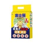 豆腐貓砂 富士貓之王樣 天然玉米豆乳豆腐貓砂 綠茶味 6L - 原裝行貨 貓砂 豆腐貓砂 寵物用品速遞