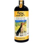 狗狗保健用品-Fourflax-紐西蘭天然亞麻籽油-500ml-營養保充劑-寵物用品速遞