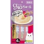CIAO 貓零食 日本肉泥餐包 龍蝦吞拿魚肉醬 56g (SC-149) 貓小食 CIAO INABA 貓零食 寵物用品速遞