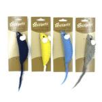 Billipets 天然羊毛貓玩具 老鼠 (NS-12217) (顏色隨機) 貓咪玩具 其他 寵物用品速遞